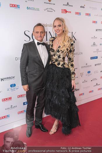 Schmuckstars Awards 2021 - Hotel Andaz, Wien - Sa 18.09.2021 - Beatrice KÖRMER, Heimo TURIN15