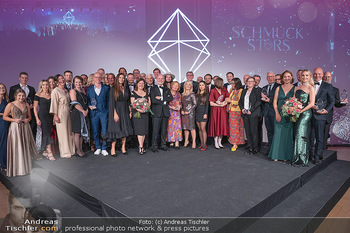 Schmuckstars Awards 2021 - Hotel Andaz, Wien - Sa 18.09.2021 - Gruppenfoto, Siegerfoto und Laudatoren, Schlussbild211