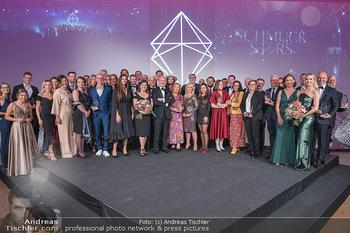 Schmuckstars Awards 2021 - Hotel Andaz, Wien - Sa 18.09.2021 - Gruppenfoto, Siegerfoto und Laudatoren, Schlussbild212