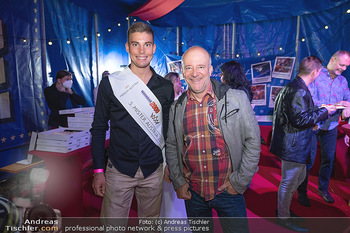 Premiere Zirkus Louis Knie - Zirkuszelt bei der Donaumarina, Wien - Mi 22.09.2021 - Christian DEMMERER, Andy LEE LANG8