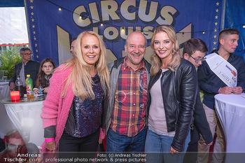 Premiere Zirkus Louis Knie - Zirkuszelt bei der Donaumarina, Wien - Mi 22.09.2021 - Christine REILER, Andy LEE LANG, Ulrike KRIEGLER17