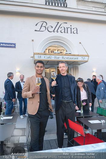 Neueröffnung - Cafe Bellaria - Do 23.09.2021 - David FIGAR, Rubin OKOTIE8