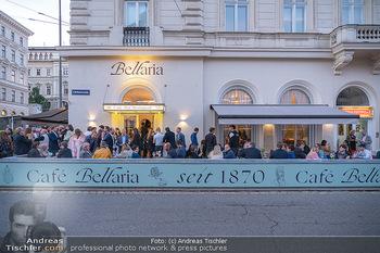 Neueröffnung - Cafe Bellaria - Do 23.09.2021 - Das Lokal von aussen außen, Cafe Bellaria36