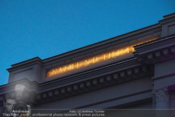 We are Musical - Eröffnungsgala - Raimund Theater, Wien - So 26.09.2021 - Schriftzug, Leuchtschrift Raimund-Theater12