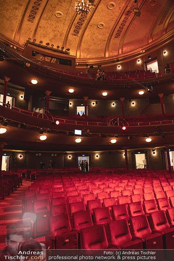 We are Musical - Eröffnungsgala - Raimund Theater, Wien - So 26.09.2021 - das neue Raimundtheater von innen, Publikumsraum, Sitzreihen, B28