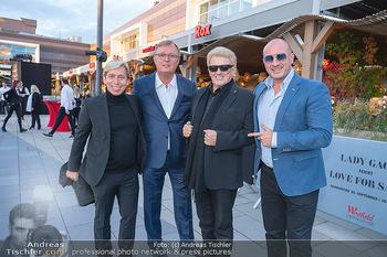 Lady Gaga Streaming Konzert - Westfield SCS, NÖ - Do 30.09.2021 - HEINO, Peter SCHAIDER, Helmuth WERNER, Michael Heinrich FUCHS27