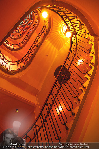 Eröffnung - Hotel Motto, Wien - Fr 01.10.2021 - Stiegenhaus in altem Stil, Nostalgie, Architektur, Treppenhaus2