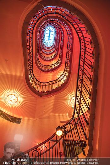 Eröffnung - Hotel Motto, Wien - Fr 01.10.2021 - Stiegenhaus in altem Stil, Nostalgie, Architektur, Treppenhaus4