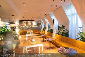 Eröffnung - Hotel Motto, Wien - Fr 01.10.2021 - Barbereich im 7. Stock des Hotels8