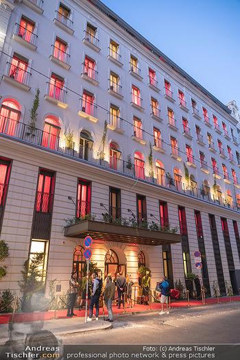 Eröffnung - Hotel Motto, Wien - Fr 01.10.2021 - Hotel Motto von außen34