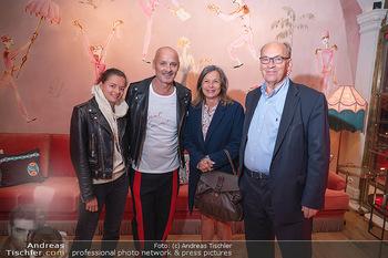 Eröffnung - Hotel Motto, Wien - Fr 01.10.2021 - Doris FELBER mit Tochter Steffanie, Bernd SCHLACHER, Sigi MENZ42
