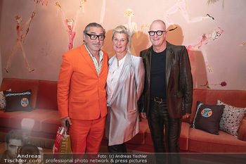 Eröffnung - Hotel Motto, Wien - Fr 01.10.2021 - Michaela KLEIN mit Ehemann, Franz RADATZ50