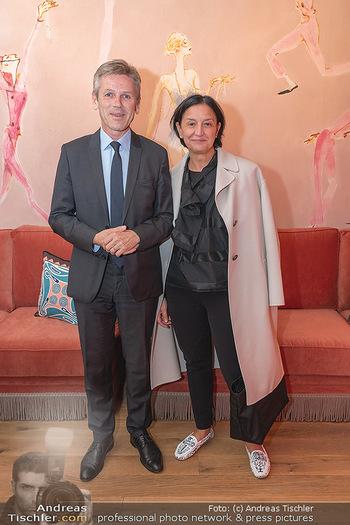 Eröffnung - Hotel Motto, Wien - Fr 01.10.2021 - Josef OSTERMAYER mit Ehefrau Manuela64