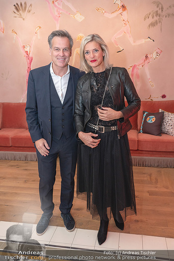 Eröffnung - Hotel Motto, Wien - Fr 01.10.2021 - Tarek LEITNER, Claudia LAHNSTEINER85
