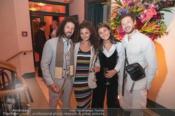 Eröffnung - Hotel Motto, Wien - Fr 01.10.2021 - Ilan und Nuriel MOLCHO mit Freundinnen138