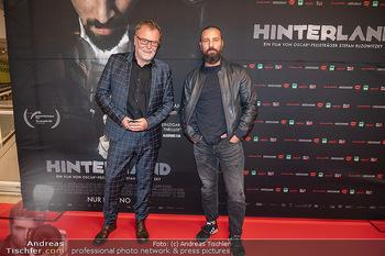 Kinopremiere ´Hinterland´ - Village Cinema, Wien - Do 07.10.2021 - Murathan MUSLU, Stefan RUZOWITZKY21