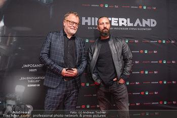 Kinopremiere ´Hinterland´ - Village Cinema, Wien - Do 07.10.2021 - Murathan MUSLU, Stefan RUZOWITZKY25