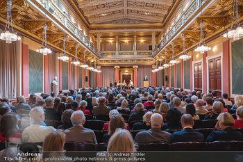 the 80s Ausstellungseröffnung - Albertina Modern Museum, Wien - Sa 09.10.2021 - Brahms-Saal mit Publikum im Wiener Musikverein31