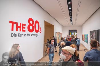 the 80s Ausstellungseröffnung - Albertina Modern Museum, Wien - Sa 09.10.2021 - 51