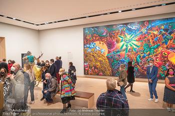 the 80s Ausstellungseröffnung - Albertina Modern Museum, Wien - Sa 09.10.2021 - 53