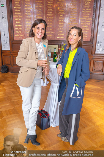 the 80s Ausstellungseröffnung - Albertina Modern Museum, Wien - Sa 09.10.2021 - Birgit LAUDA, Christiane WENCKHEIM61