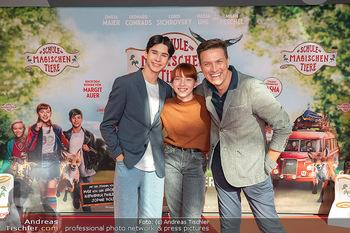 Kinopremiere ´Die Schule der magischen Tiere´ - Cineplexx Donauplex - Sa 09.10.2021 - Robert STEINER, Emilia MAIER, Loris SICHROVSKY8