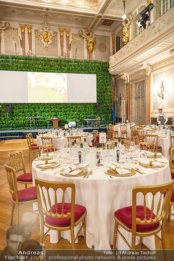 Lugner Verlobung und Geburtstag - Haus der Industrie, Wien - Sa 09.10.2021 - Tisch Setup Gedeck3