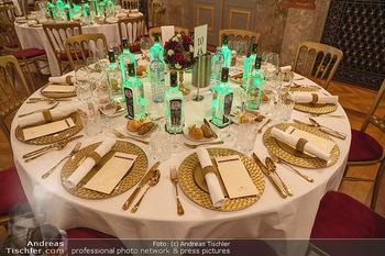 Lugner Verlobung und Geburtstag - Haus der Industrie, Wien - Sa 09.10.2021 - Tisch Setup Gedeck12