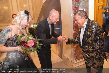 Lugner Verlobung und Geburtstag - Haus der Industrie, Wien - Sa 09.10.2021 - Anton Toni FABER, Richard LUGNER, Simone REILÄNDER112
