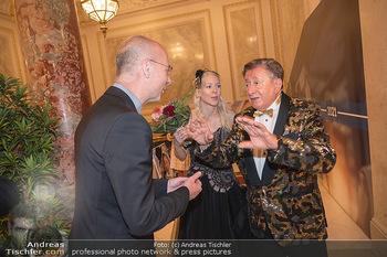 Lugner Verlobung und Geburtstag - Haus der Industrie, Wien - Sa 09.10.2021 - Anton Toni FABER, Richard LUGNER, Simone REILÄNDER117
