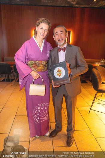 Buchpräsentation ´The Art of Shiki´ - Shiki, Wien - Mo 11.10.2021 - Joji HATTORI mit Ehefrau Sabine9