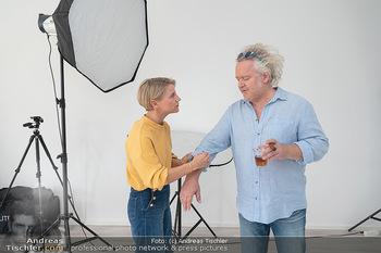 Plakat Fotoshooting - Fotostudio Berndorf - Mi 13.10.2021 - Kristina SPRENGER, Gregor SEBERG im Studio18