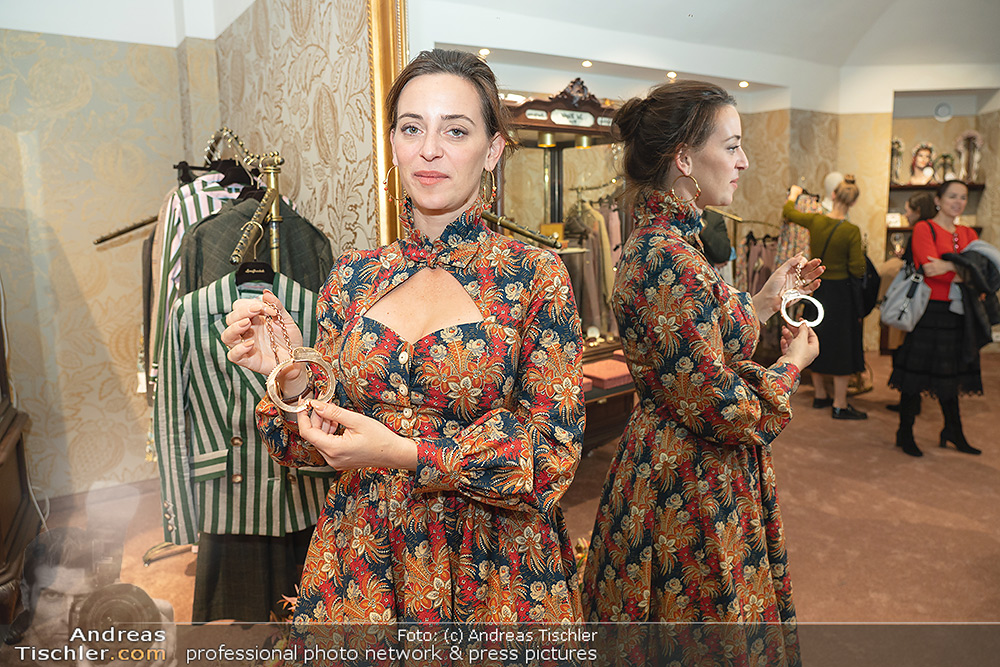 Lena Hoschek Schmuckpräsentation - 2021-10-21 - Hoschek Store, Wien