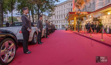 Re-Opening und Popp&Kretschmer ModenschauHotelpagen, Hotel Imperial Vienna, Parkring - Hotelpagen, Hotel Imperial Vienna, Parkring by Andreas Tischler
