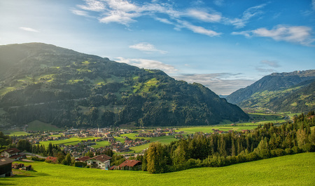 Österreich Natur Landschaft Tourismus Urlaub - Zillertal Zell am Ziller Tirol Tal Idylle Landleben Urlaub Touri by Andreas Tischler