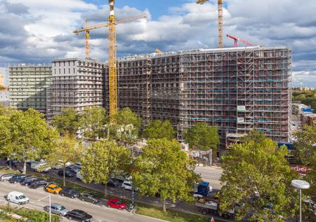 Luftbilder gemäß Österr. LFG und der Austro Control GmbH - Baustelle am Wienerberg, Wien by Andreas Tischler