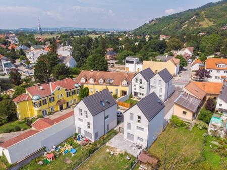 Luftbilder gemäß Österr. LFG und der Austro Control GmbH - Reihenhäuser Niederösterreich Wien für Bauträger Trompeter & by Andreas Tischler