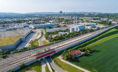 (c) Drohnenfotos.at - Andreas Tischler - ÖBB Güterterminal Inzersdorf Wien-Süd by Andreas Tischler