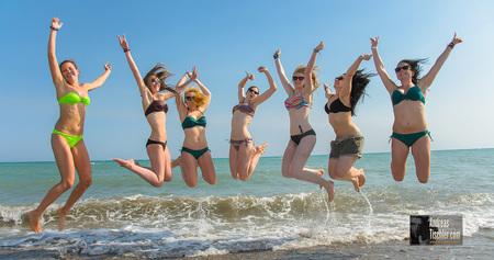 XJAM VIP- und Sponsorentage 2014 - Tag 3 - Strand, girls, Spass, Meer by Andreas Tischler