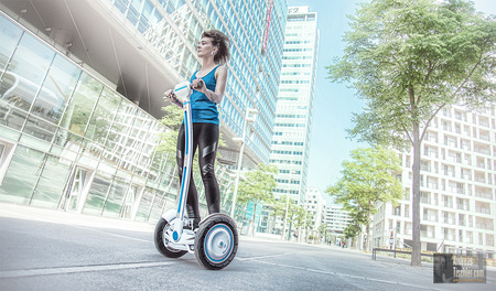 Werbefoto elektrisches Einrad, City-Wheel, Solowheel, Airwheel, Segway, modern mobility - Werbefoto elektrisches Einrad, City-Wheel, Solowheel, Airwheel,  by Andreas Tischler